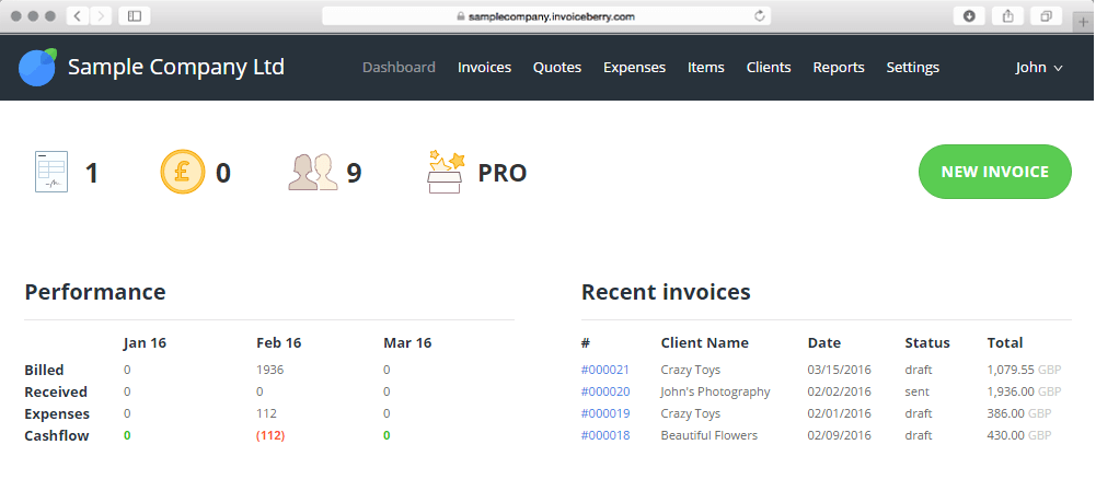 invoicing software for carpet cleaning business invoiceberry