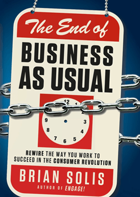 The End of Business as Usual is one of the most powerful business books