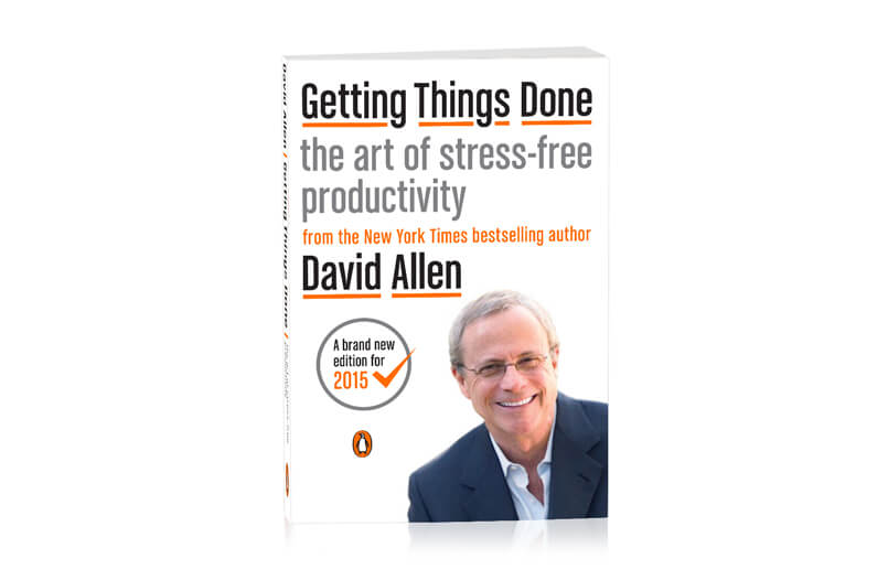 David Allen's impressive book Getting Things Done will motivate you in your work