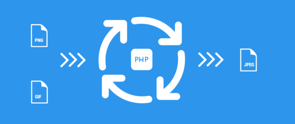 Convert GIF and PNG files into JPEG files with PHP