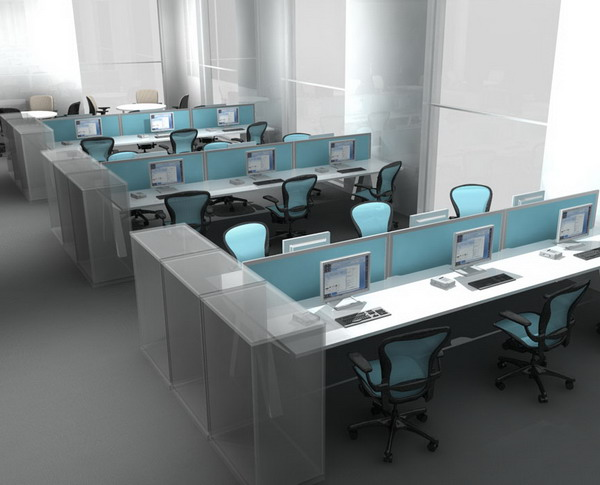terrific contemporary office design ideas | Where to Get a Small Office for Your Small Business in ...