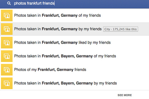 This is an example of a search result on the query 'photos Frankfurt friends'