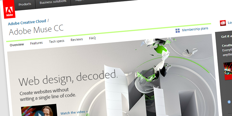 Adobe Muse CC (Adobe Creative Cloud )