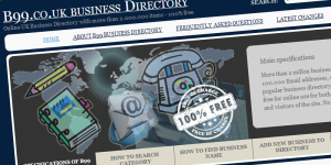 B99 UK Business Directory