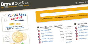 Brownbook Free Directory for Small Businesses