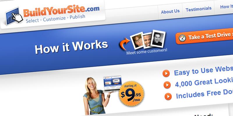 BuildYourSite.com Build a Website Today!