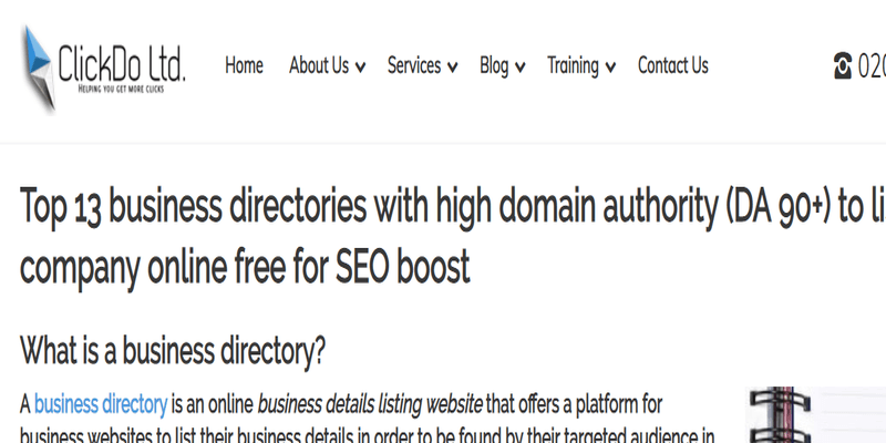 UK-Business-Blog-Directory-ClickDo