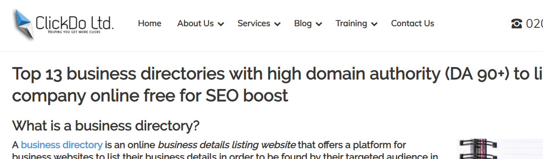 UK-Business-Blog-Directory-ClickDo