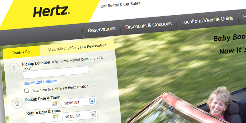 Hertz - Global car rental business