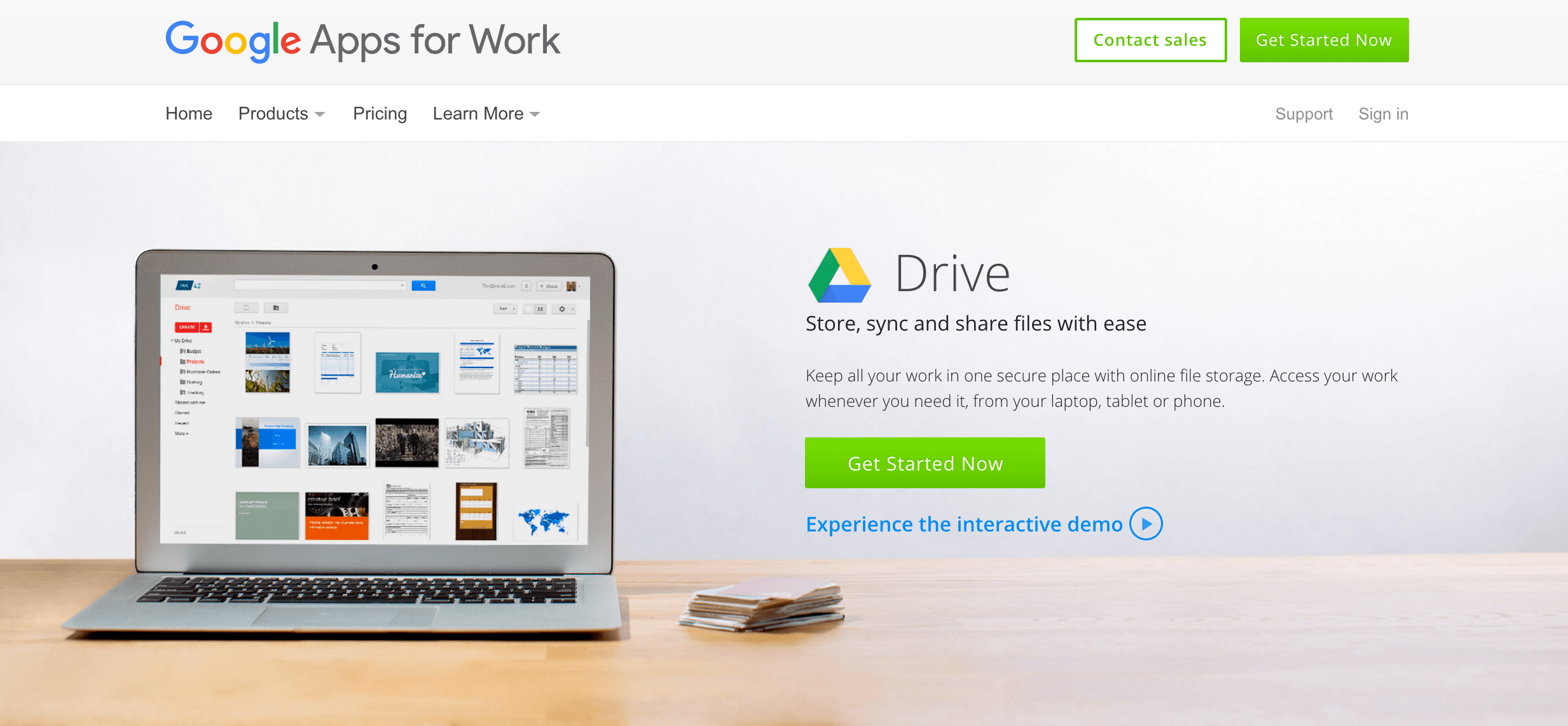Google Drive cloud storage service