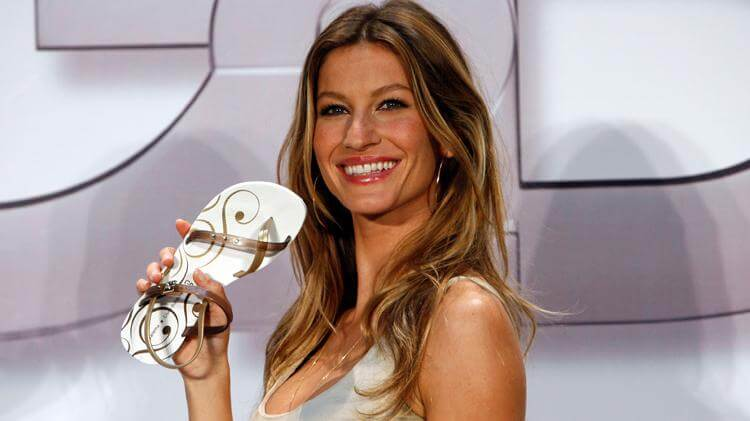 Gisele Bundchen model and women entrepreneur