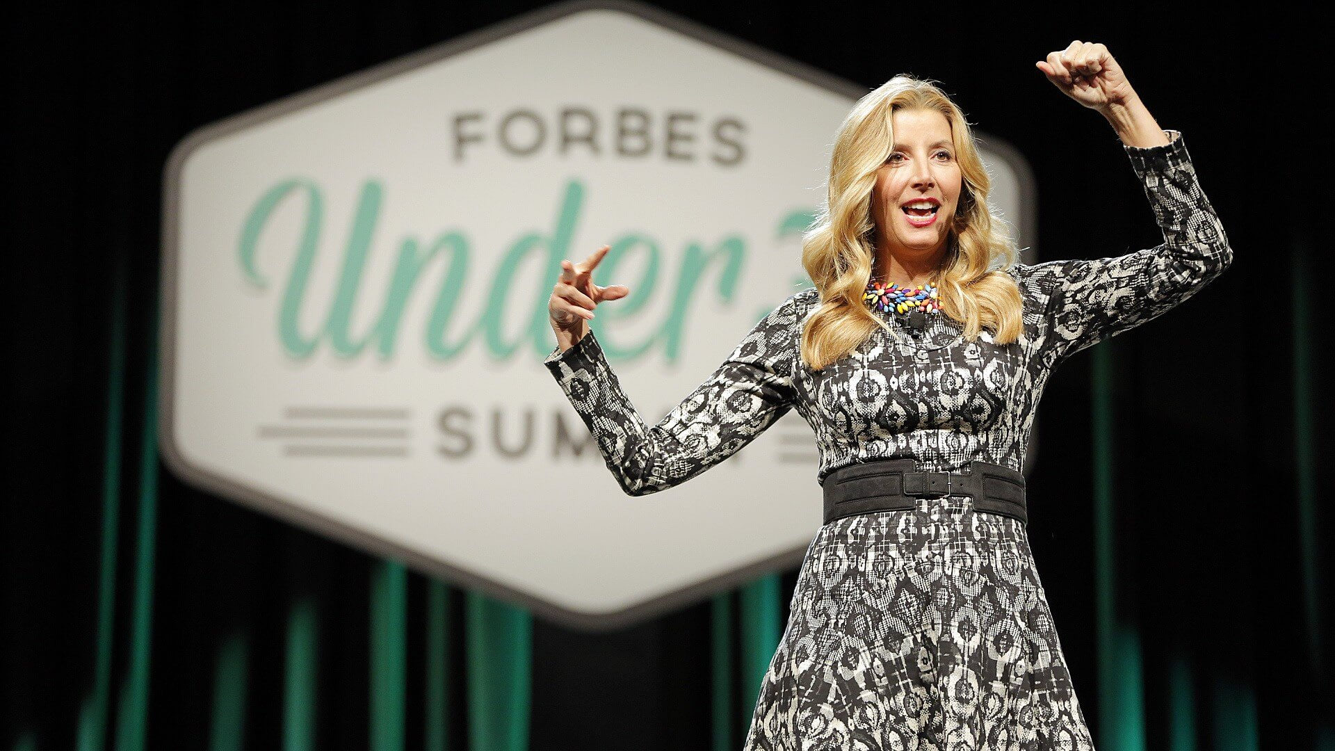Sara Blakely is an american woman entrepreneur who founded Spanx