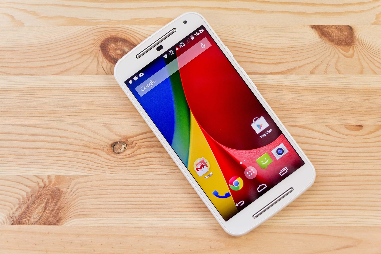 Moto G 3rd generation smartphone