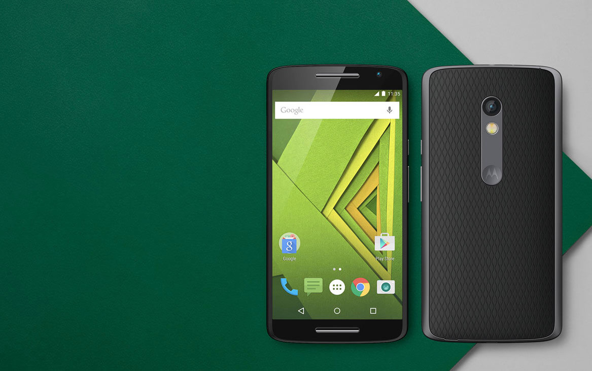 Motorola smartphone Moto X play