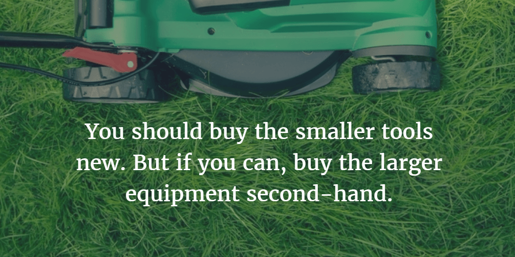 What gardening equipment you'll need