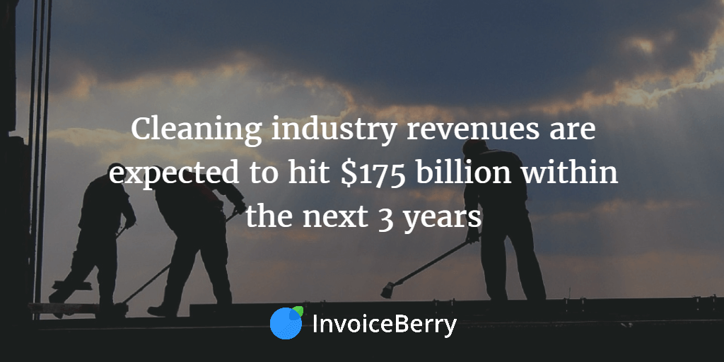 The cleaning industry is set to grow dramatically over the next 3 years--make sure you get a piece of that pie