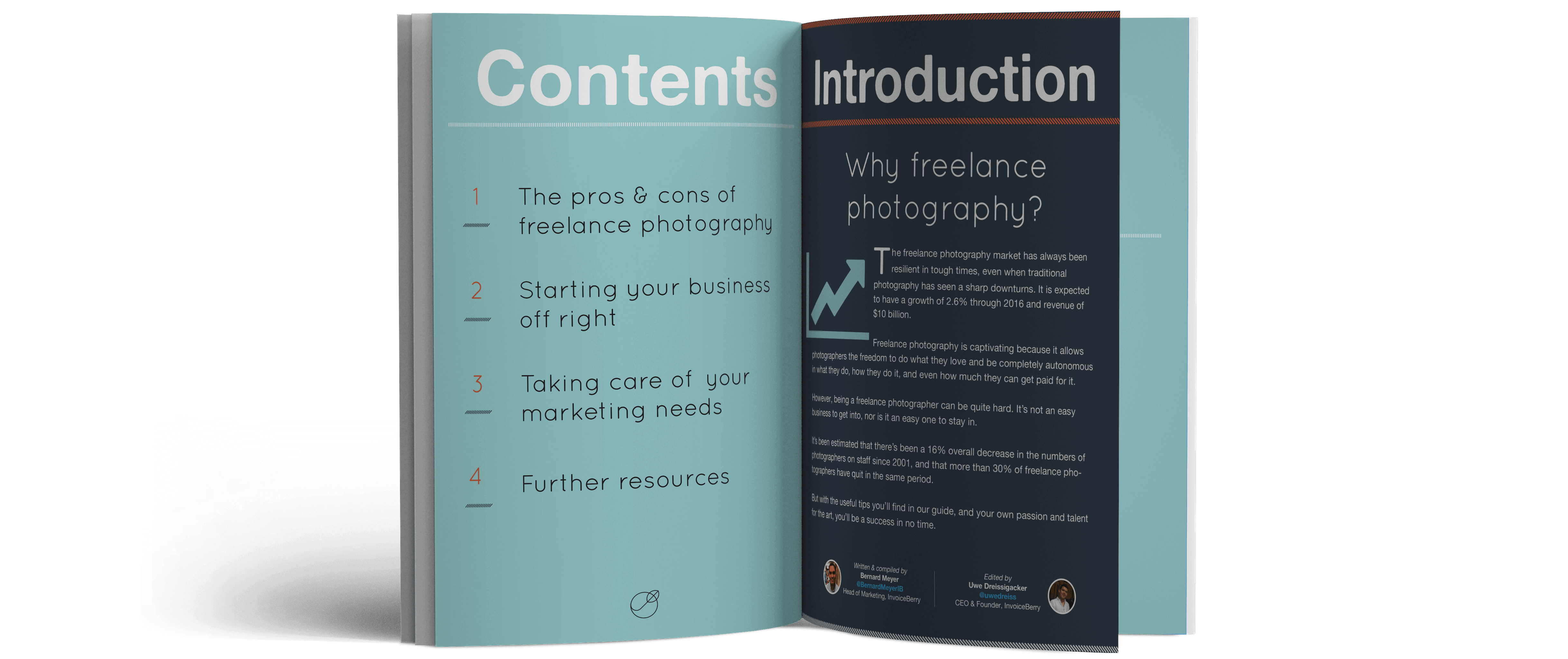 Our free photography ebook is filled with all the information you need to start your freelancing career