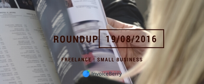 Check the weekly small business and freelancing news