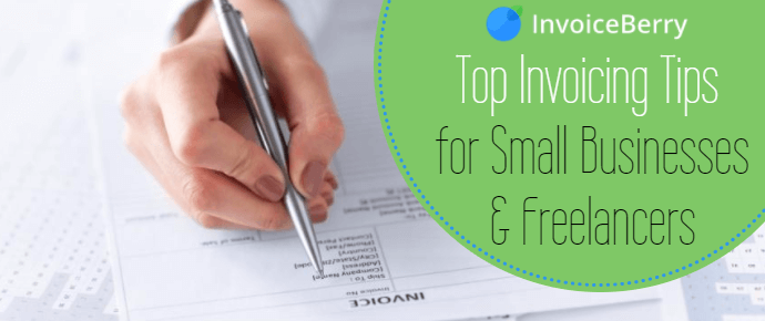 Check out our top invoicing tips for small businesses and freelancers