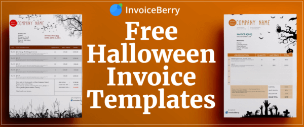 Check out our cool new Halloween invoice templates available for free download today!