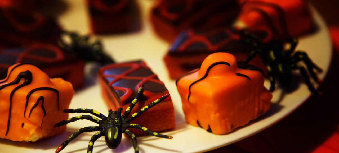Get into the Halloween spirit by creating fun Halloween-themed food and drinks