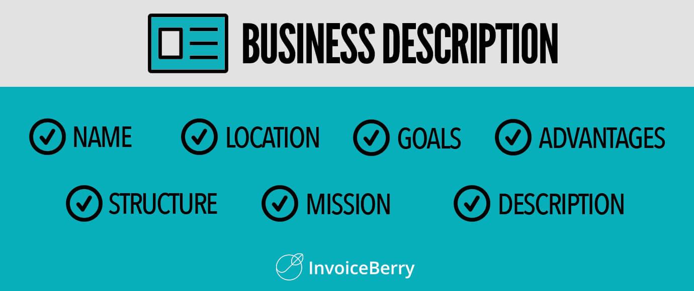 Business description: key elements