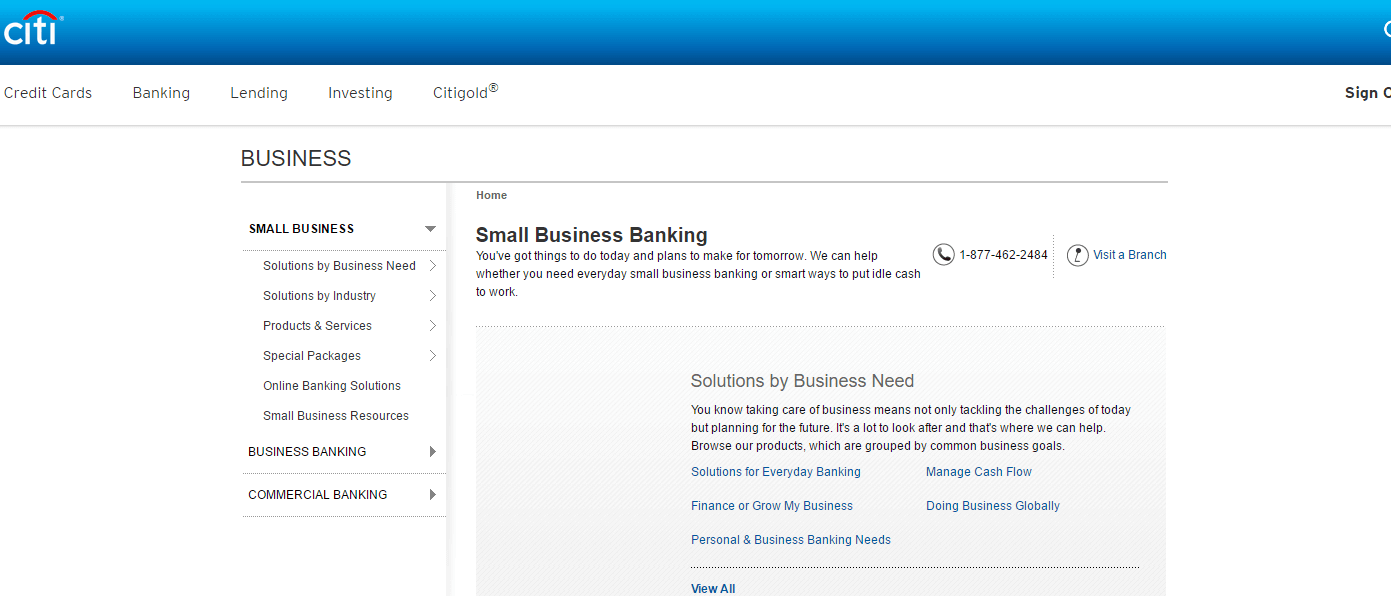 Citibank is one of the 7 Best Banks for US Small Businesses