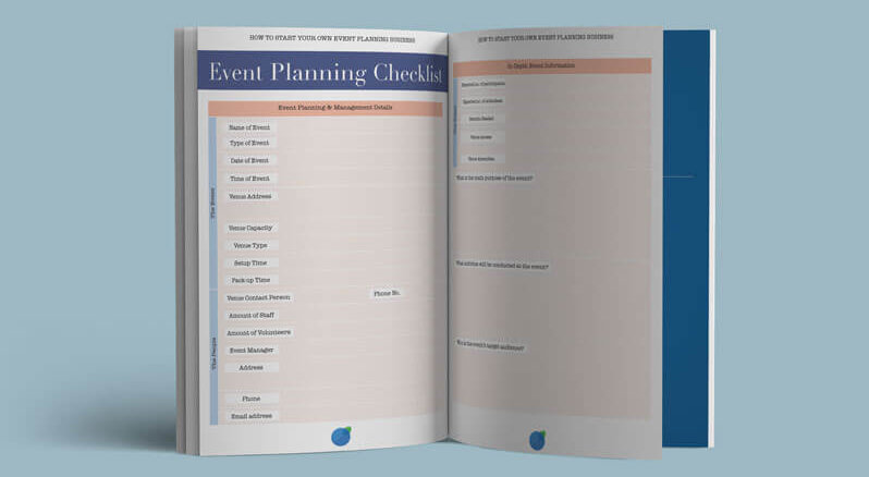 Our extra resources help you succeed in your own event planning business