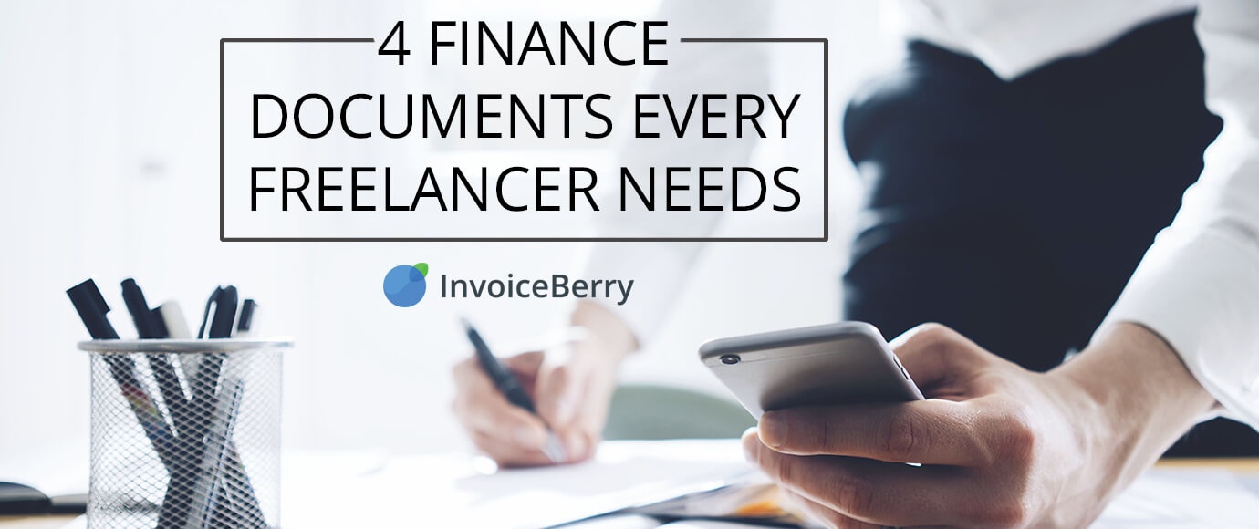 These are the 4 most important finance documents that every freelancer needs