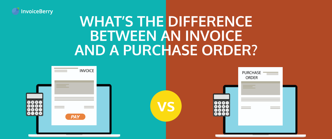 Whats The Difference Between A Purchase Order And An Invoice - Order invoice
