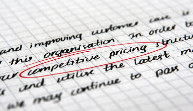 It's important to be strategic and competitive when creating prices for your plumbing business