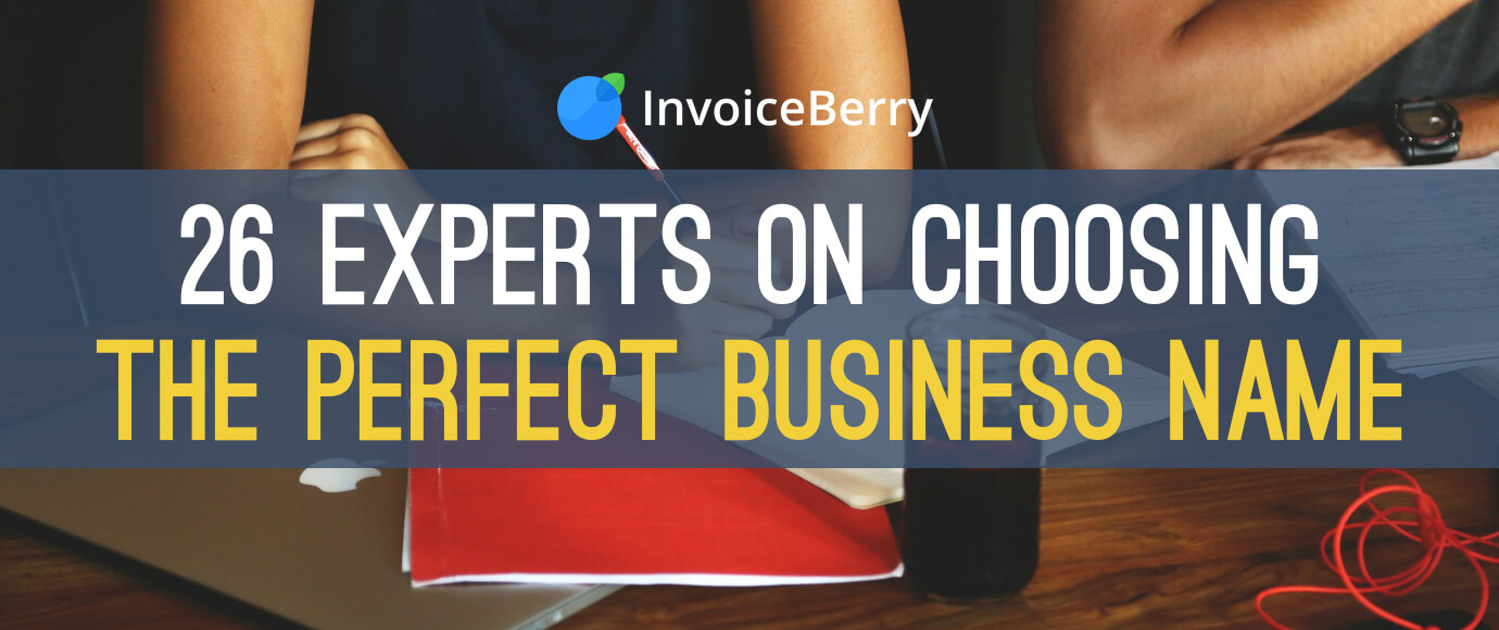 Check out these expert stories on choosing the perfect business name