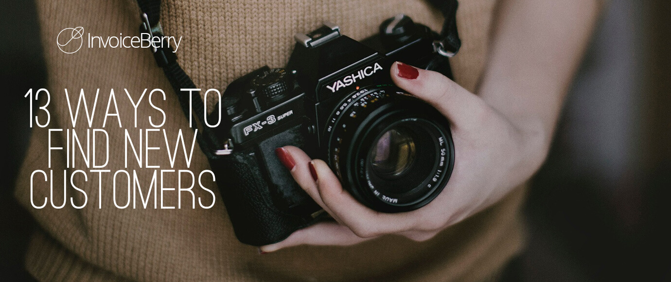 Try these 13 awesome ways to find new customers for your freelance photography business