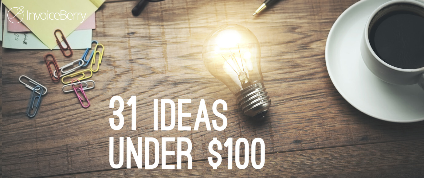 These 31 business startup ideas are fantastic and won't cost you more than $100