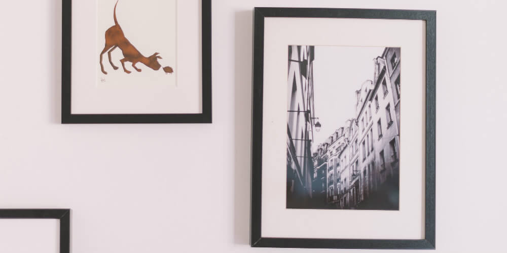 One way to get new clients for photography is to hang it up in business offices or shops