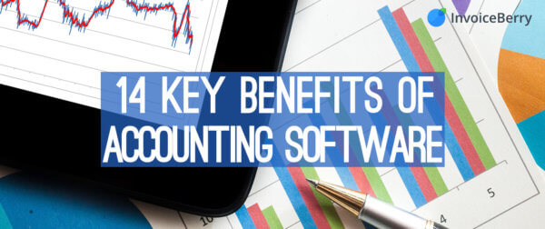 These are the 14 most important benefits of using accounting software for your company