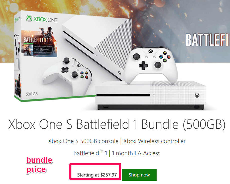 Bundle pricing helps introduce new products or sell older ones