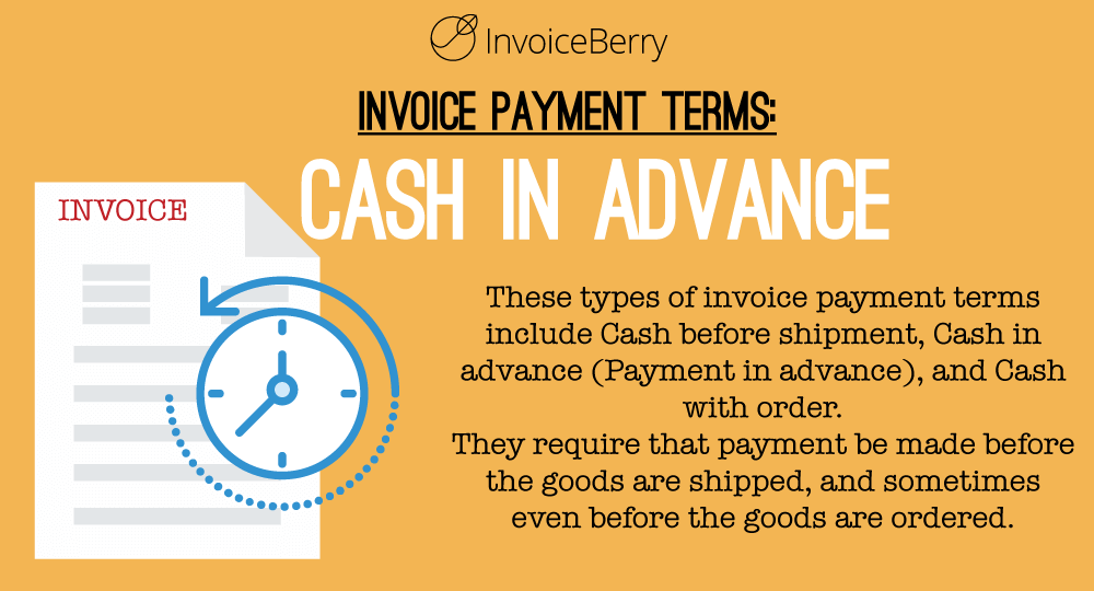 Net And Other Invoice Payment Terms InvoiceBerry Blog - Submitting invoices for payment