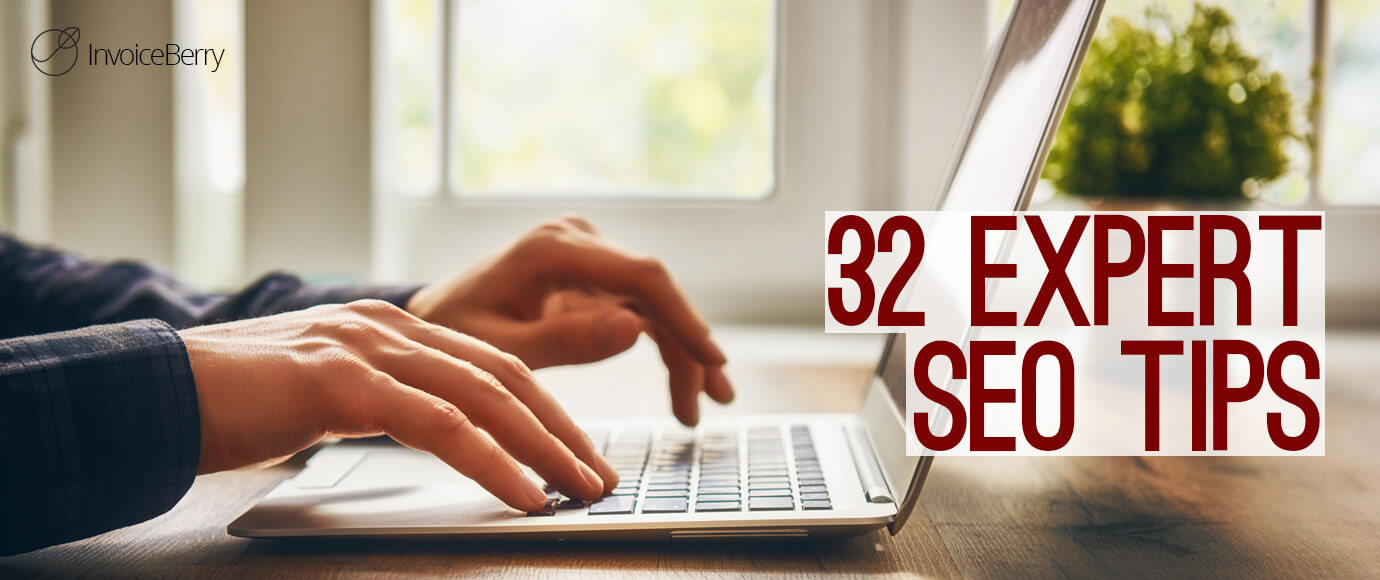 Get these 32 amazing SEO tips to help boost your small business and freelancer website traffic