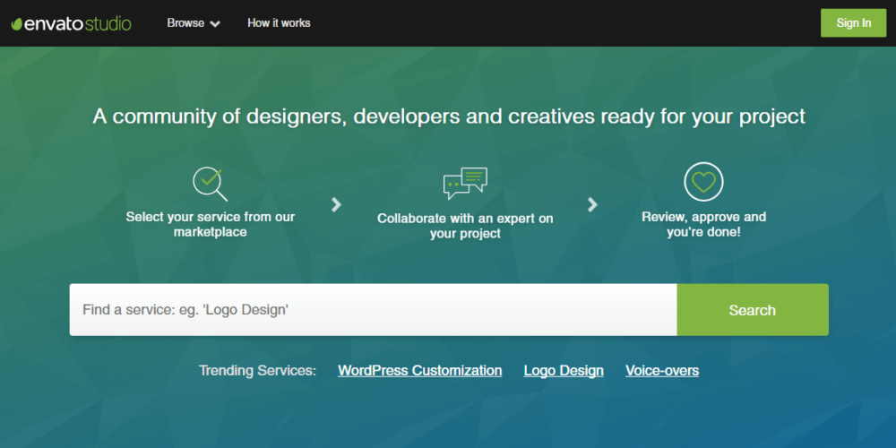 Check out Envato Studio for great freelance jobs
