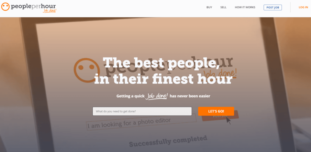 People Per Hour is another popular website to find freelancer jobs