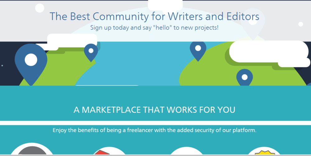 Scripted is a great site for getting writing freelance jobs