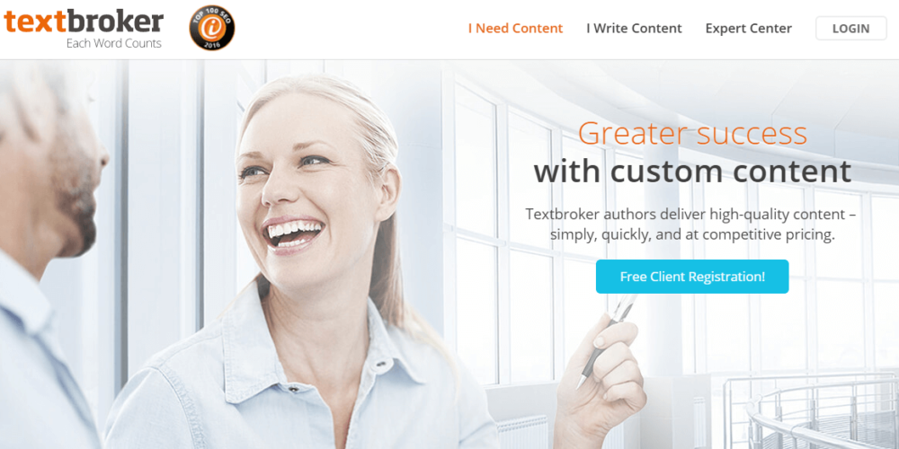 Use Textbroker to find great content writing freelance jobs