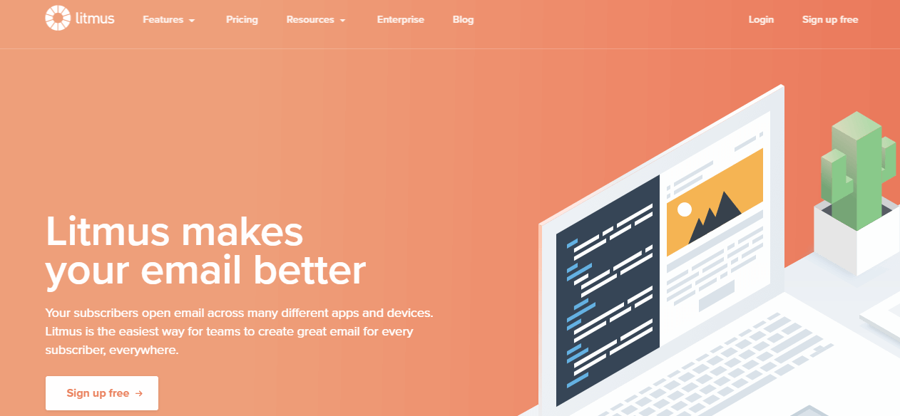 Use Litmus to test your emails before sending them.
