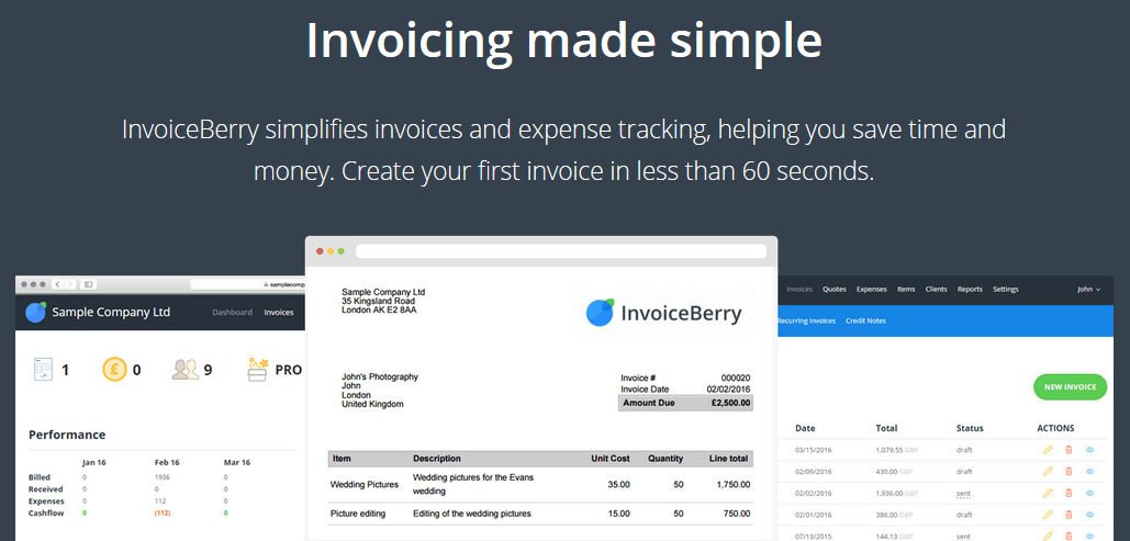 Invoicing is not only good for productivity but overall business development.