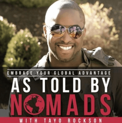 As Told by Nomads podcast for business owners.