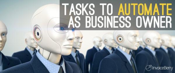 SME tasks to automate
