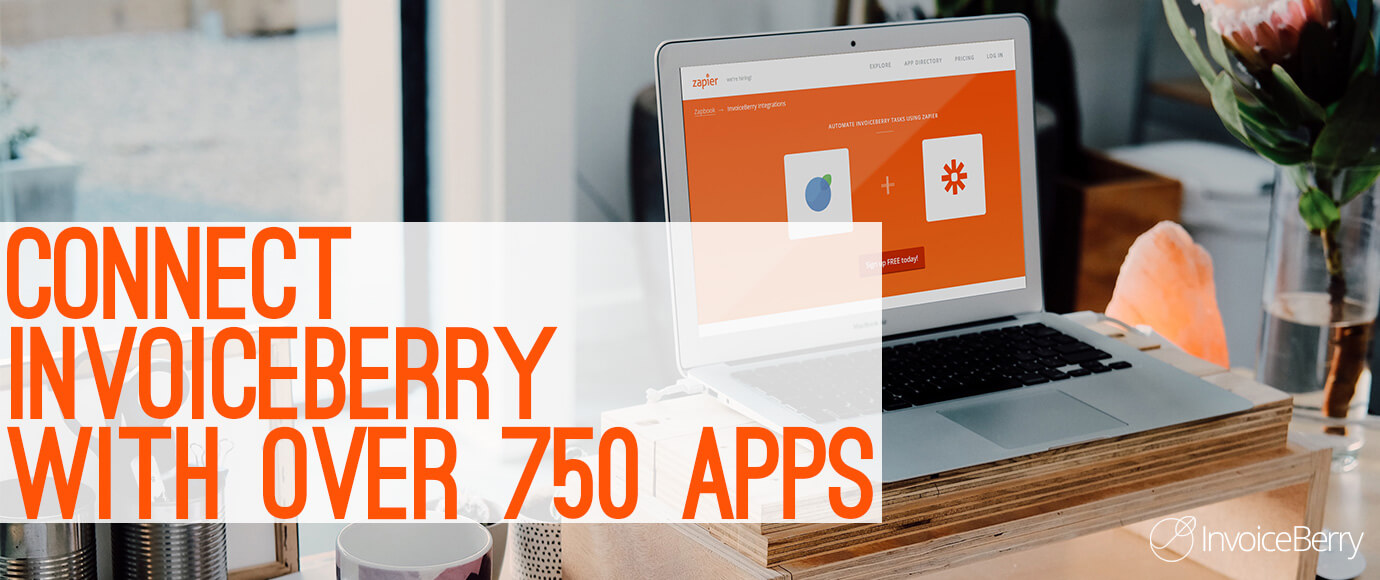 By using Zapier you can integrate your InvoiceBerry online invoicing account with over 750 other apps