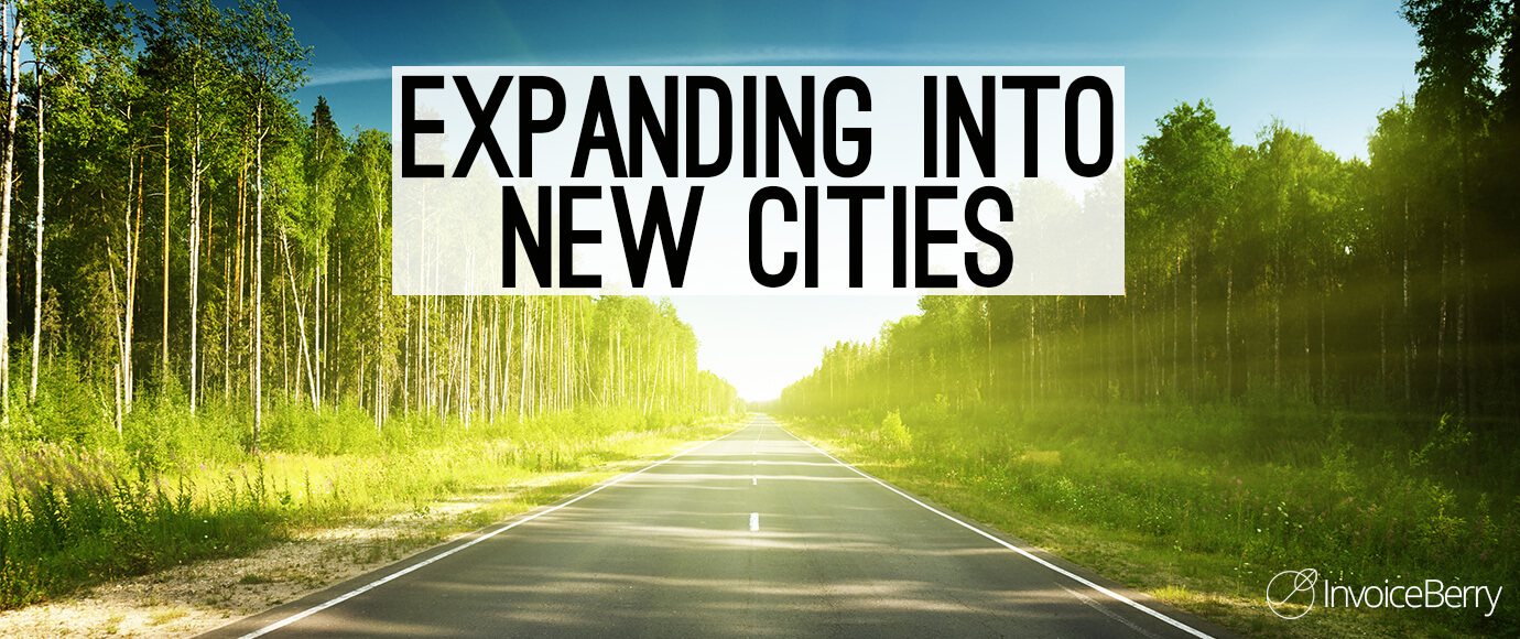 You can grow your business by expanding it into new cities.
