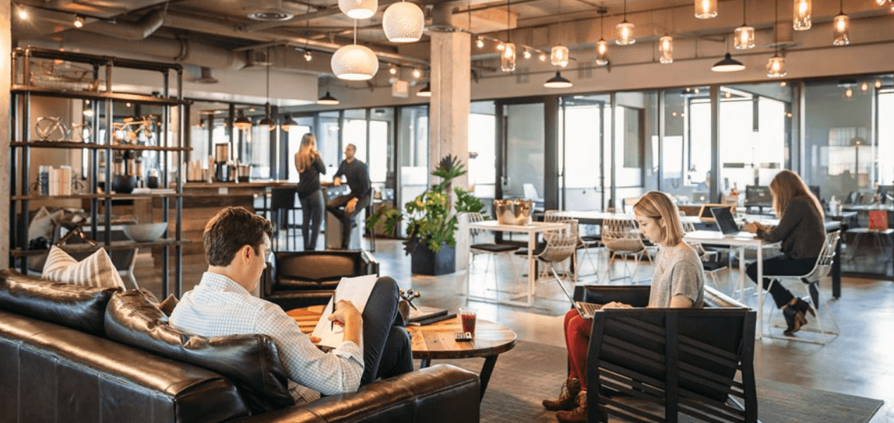 Co-working space can be the oasis of productivity while traveling.